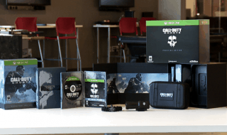 Unboxnig de las  ediciones 'hardened' y 'prestige' de Call of Duty: Ghosts