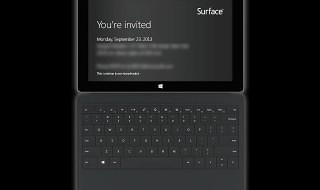 Microsoft celebrará un evento relacionado con Surface el 23 de septiembre