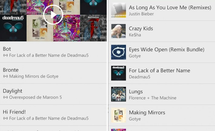 Xbox Music Andoid iOS