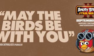 Anakin Skywalker, el Capitán Panaka y C-3PO en Angry Birds Star Wars II