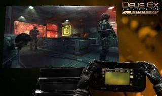 La mecánica de juego de Deus Ex: Human Revolution en Wii U