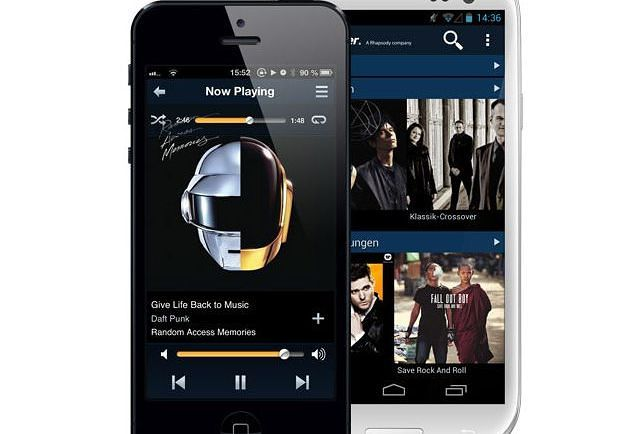 Napster iOS Android