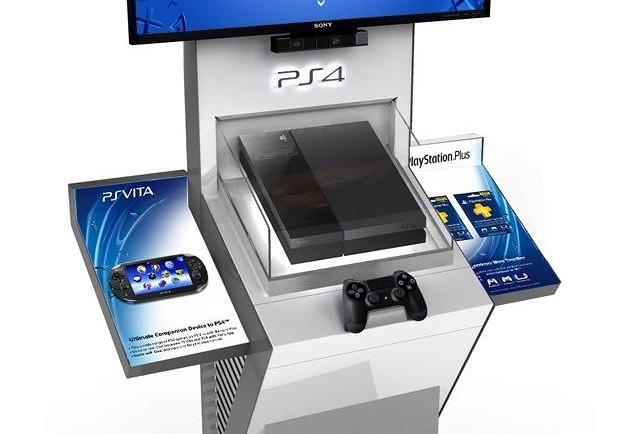 PS4 Kiosk
