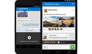 La versión 3.8 de la app de Tuenti para Android llega con mensajes de voz