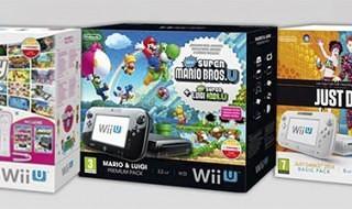 3 nuevos packs de Wii U llegarán a Europa en noviembre