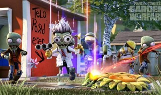 Nuevo gameplay de Plants vs. Zombies: Garden Warfare