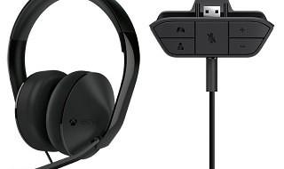 Presentados los Auriculares Estéreo Xbox One y el adaptador para terceros