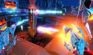 Chroma, el hibrido entre juego musical y shooter en primera persona de Harmonix
