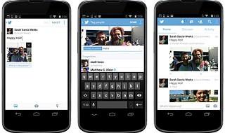Twitter permite etiquetar a gente en la fotos y publicar 4 en el mismo tweet