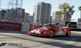 El circuito Long Beach llega mañana gratis a Forza Motorsport 5