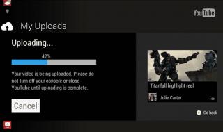 A partir de mañana podremos subir vídeos a Youtube desde Xbox One