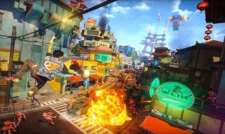 Primer gameplay de Sunset Overdrive