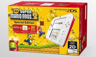 Nuevo pack de Nintendo 2DS con New Super Mario Bros. 2