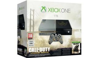 Habrá pack de Xbox One con disco duro de 1TB + CoD: Advanced Warfare por 499€