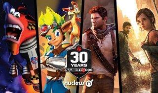 30 años de Naughty Dog
