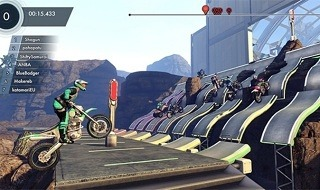 El multijugador online llegará a Trials Fusion en 2015, ya disponible en beta para PC