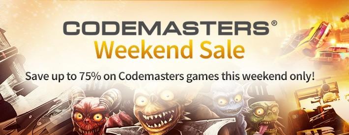 codemasters-weekend-sale