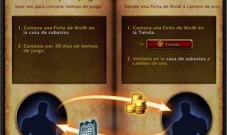 La nueva ficha de WoW permitirá comerciar con oro y tiempo de juego en World of Warcraft