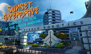 Sunset Overdrive baja de precio y recibe su último DLC, Dawn of the Rise of the Fallen Machines