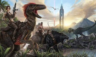 ARK: Survival Evolved, un shooter en mundo abierto con dinosaurios, para PS4, Xbox One y PC