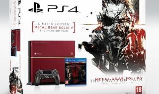 Esta es la edición limitada de PS4 inspirada en Metal Gear Solid V