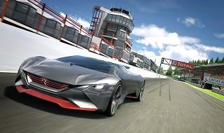 El Peugeot Vision Gran Turismo llega a Gran Turismo 6 con la actualización 1.19