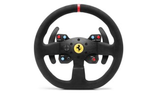599XX EVO 30 Wheel Add-On Alcantara Edition, nuevo volante de Thrustmaster