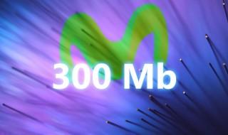 Movistar también tendrá 300 megas simétricos de fibra próximamente