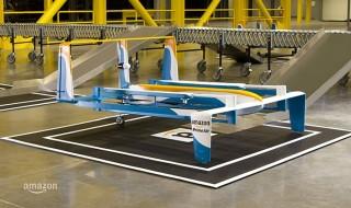 Así son los drones de Amazon para su servicio Prime Air