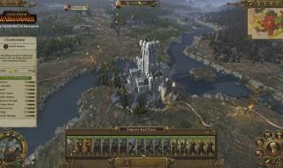 La campaña de El Imperio de Total War: Warhammer