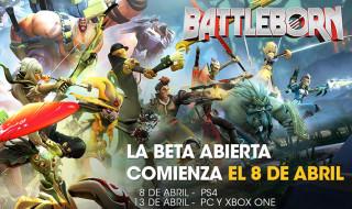 Detalles de la beta abierta y el modo historia de Battleborn