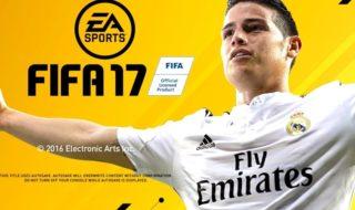 La aportación de James Rodriguez a FIFA 17 y como luce en el juego