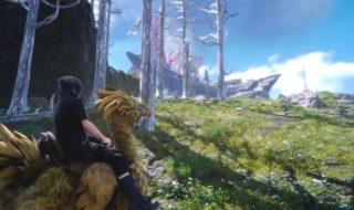 Los entornos acuáticos en el mundo de Final Fantasy XV