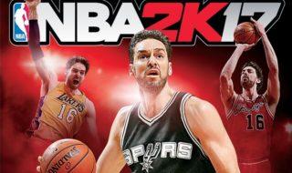 Pau Gasol, portada de NBA 2K17 en España