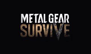 Anunciado Metal Gear Survive para PS4, Xbox One y PC
