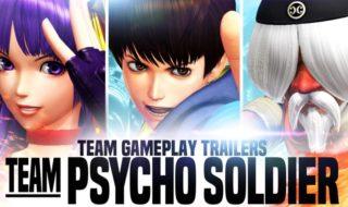 El equipo Psyco Soldier de The King of Fighters XIV