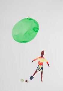 Takehito Koganezawa, o. T., 2015, Aquarell auf Papier