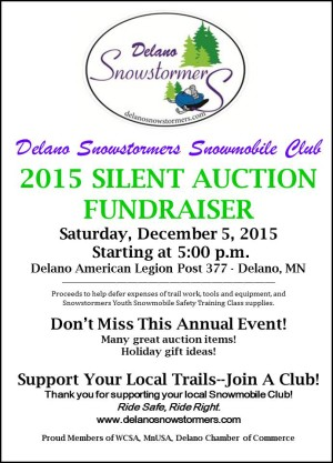2015 Silent Auction Poster