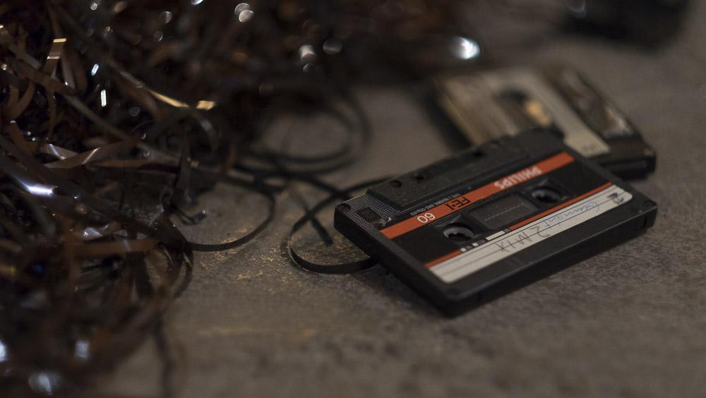 "Tape Back – Austellung: ""Tapes, Kassetten + K7"""