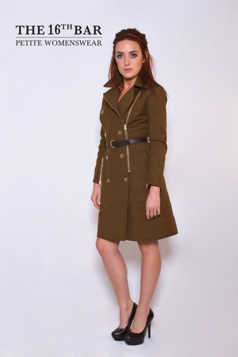 Trench Coat with logo