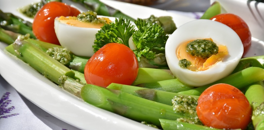veges and egg