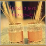 Nutella Jars Makeover