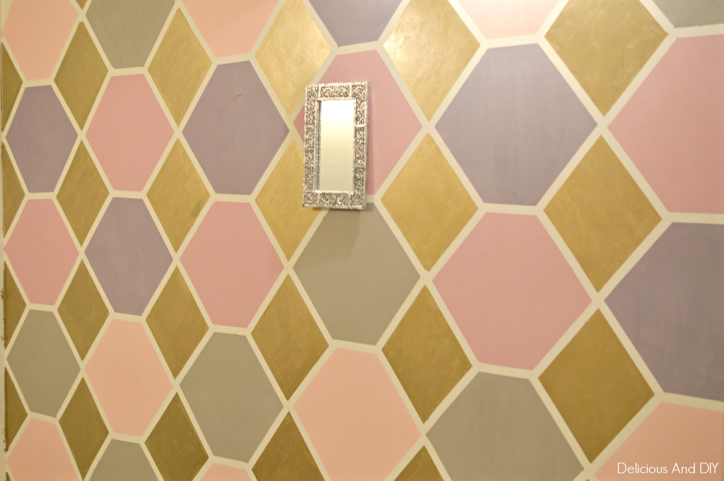 HEXAGON FEATURE WALL