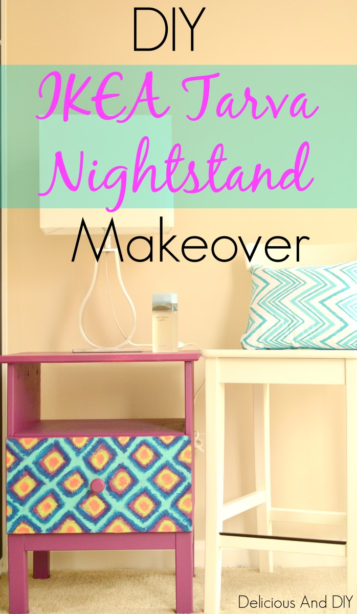 IKEA Tarva Nightstand Makeover