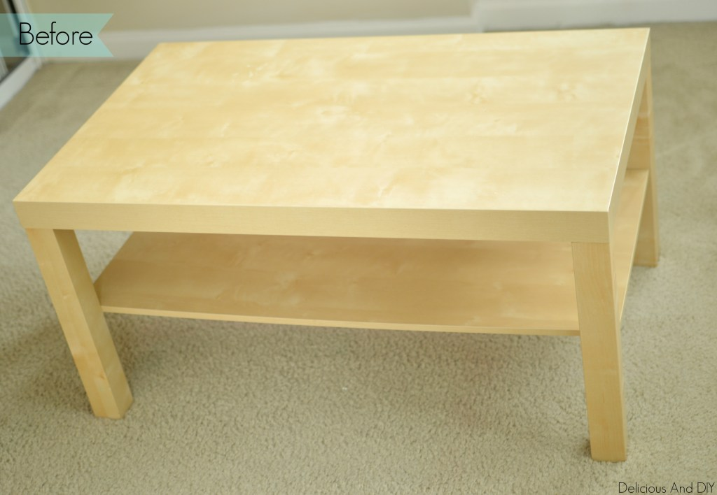 Ikea Coffee Table Makeover- Delicious And DIY