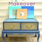 Wood Coffee Table Makeover