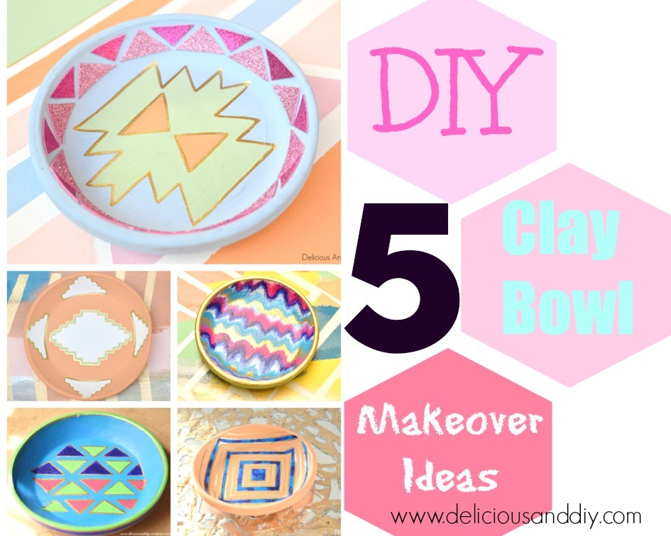 5 DIY Bowl Makeovers