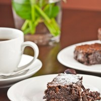 Flourless Chocolate Brownies {Gluten free}