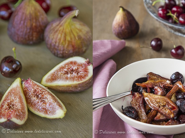 Honey roasted figs recipe via Delicieux | www.deliciouseveryday.com