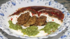 Moong dal dahi vada recipe